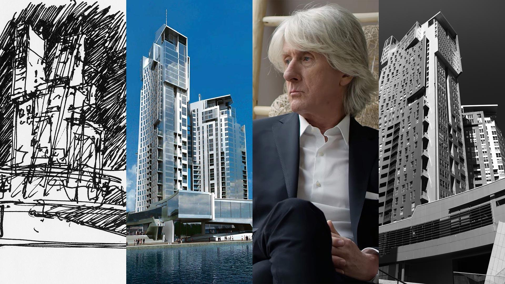 Andrzej Kapuścik, architekt Sea Towers.