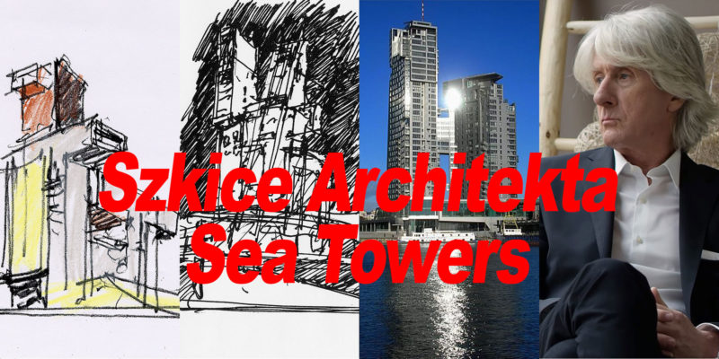 Sea Towers szkice