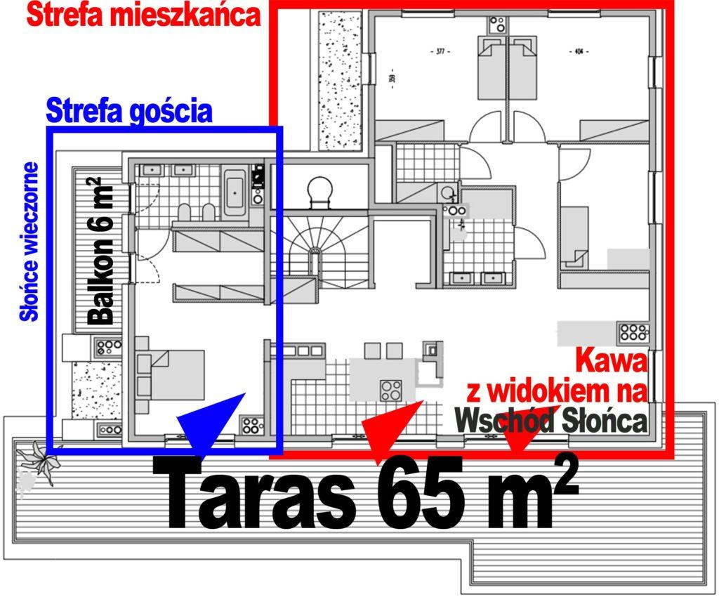 Mieszkanie z tarasem Gdynia