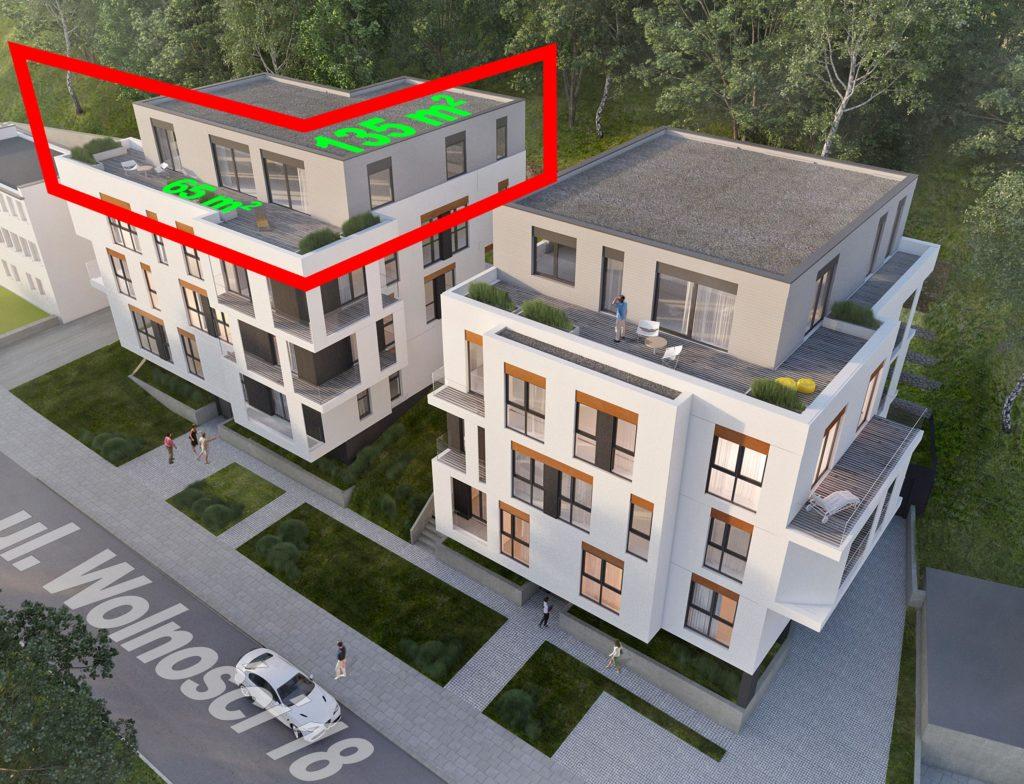 Nowe mieszkania Gdynia Działki Leśne Wolności 18