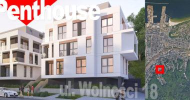 Nowe mieszkania Gdynia Działki Leśne Wolności 18 Apartamenty Penthouse