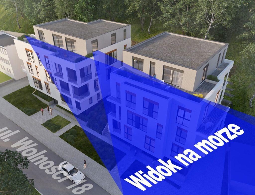 Nowe mieszkania Gdynia z widokiem na morze
