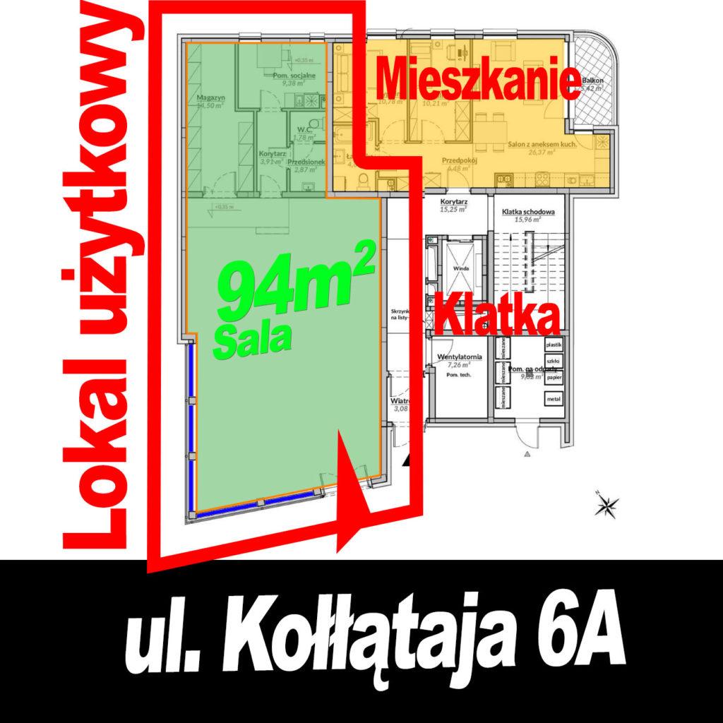 Lokal użytkowy Gdynia Grabówek Kołłątaja 6A