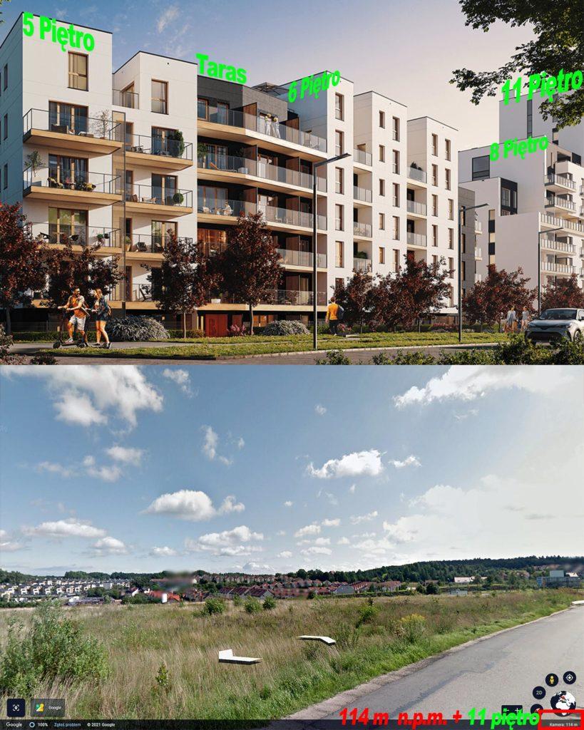 Nowe mieszkania Gdynia Mały Kack Osiedle Solano Strzelców