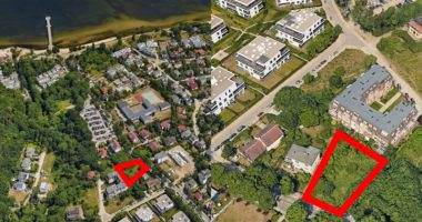 Orłowo grunt na sprzedaż Gdynia Orłowska 44